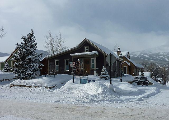 Plum Cottage in Winter Breckenridge Lodging Vacation Home Rental