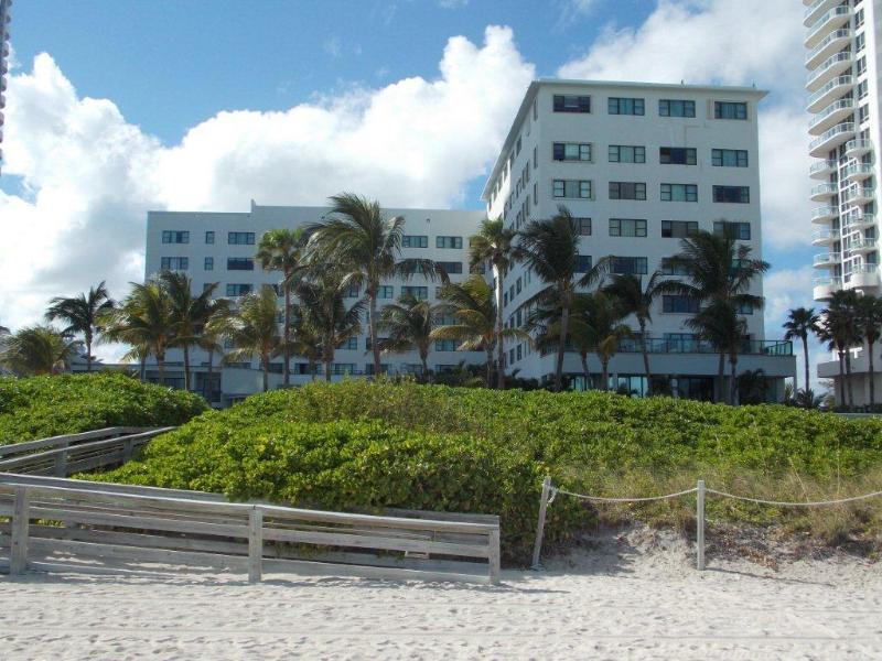 Resort View from the Beach