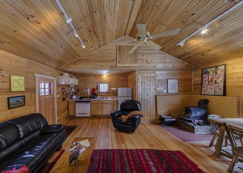 Isolated Charming Knotty Pine Cottage on 575 Acre Preserve, casa vacanza a Port Jervis