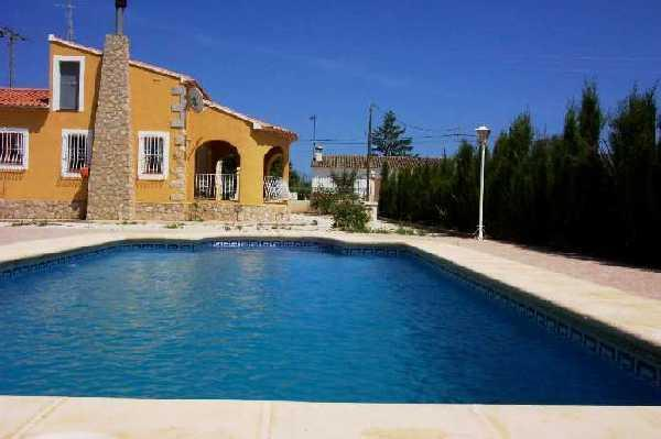 Costa Blanca Villa. 3 Bed. Private Pool, A/C, WiFi, holiday rental in Jalon