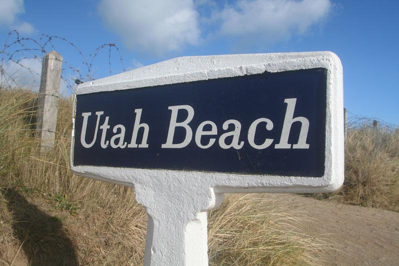 Welcome to Utah Beach © Mike Forster