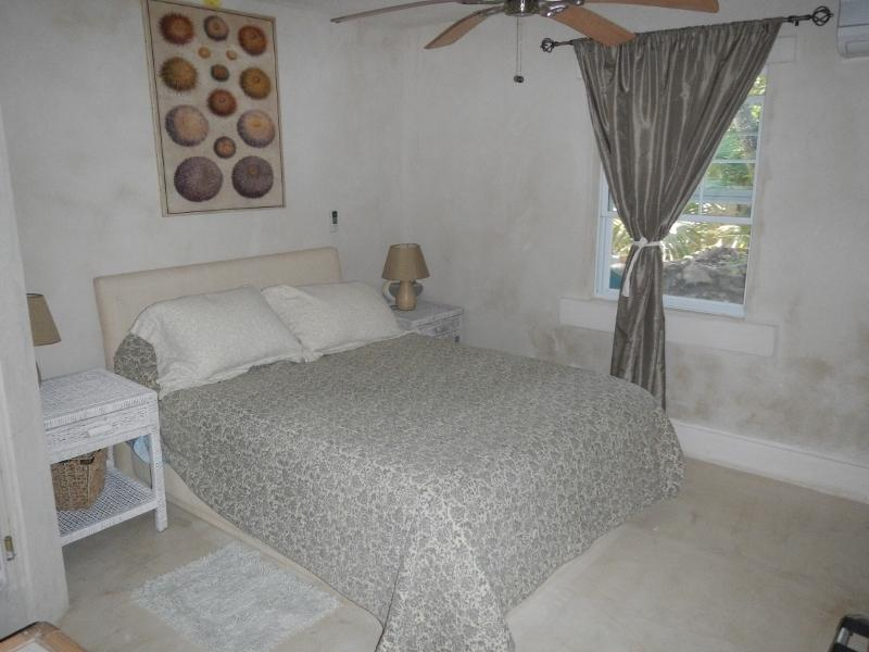 The Master Bedroom with A/C
