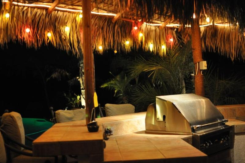 night time at the palapa bar