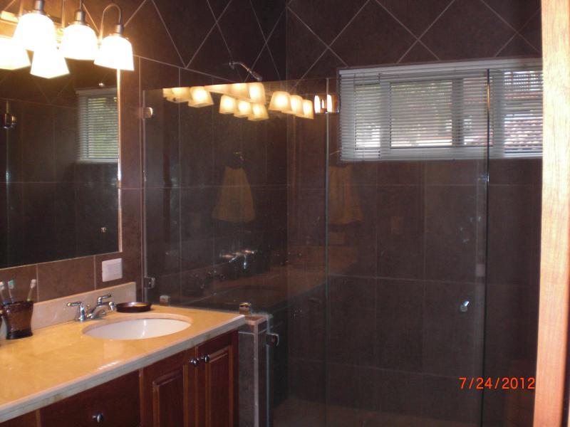 Private Master bath with walk-in shower.
