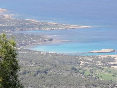 Akamas coastline nearby