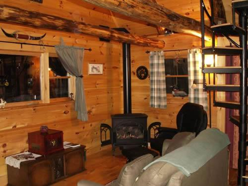 inside the 'West' cabin