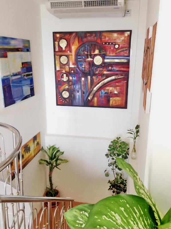 Hallway to A-Suite