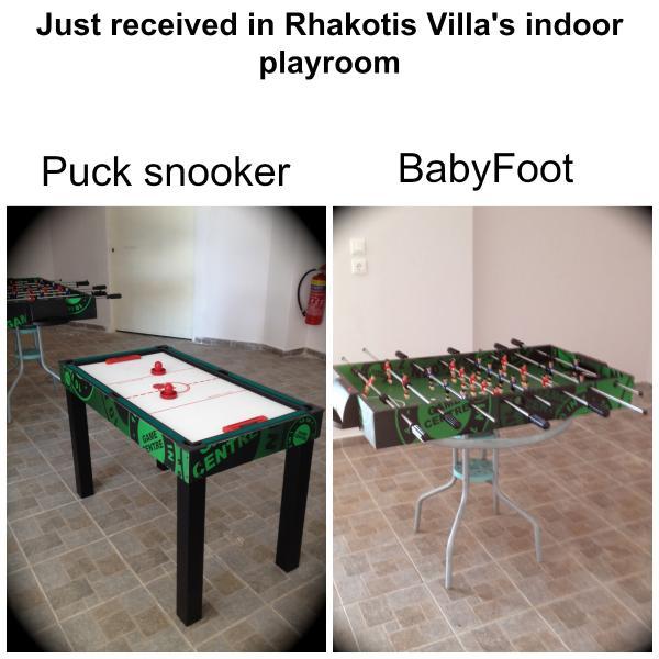 The indoors playroom