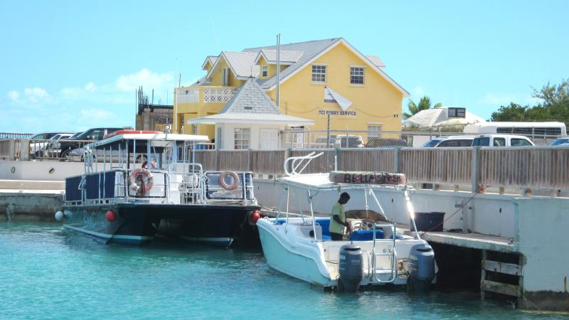 Walkin Marina & TCI Ferry Dock at Heaving Down Rock (less than 2 minutes away)