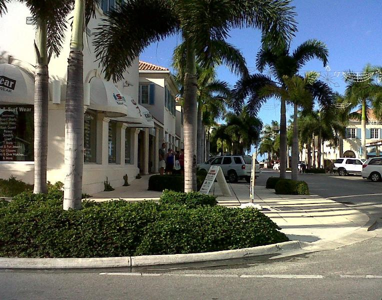 The Regent Village, in Grace Bay (5-7 minutes away)