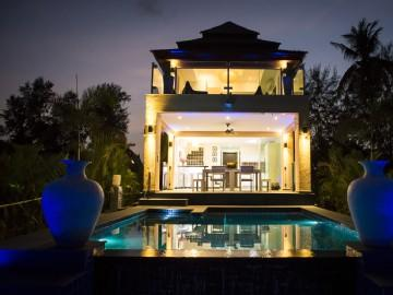 New Luxurious Beach Pool Villa with Small Island., holiday rental in Ko Chang