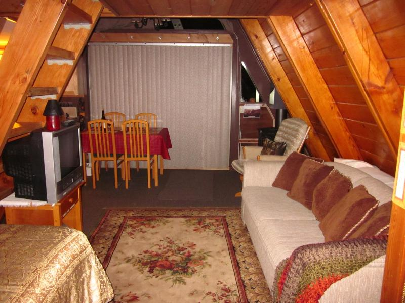 Studio Style Cozy A-Frame Cabin, Pine Rock Retreat, Idyllwil - Pine Cove (New HDTV since this pic)