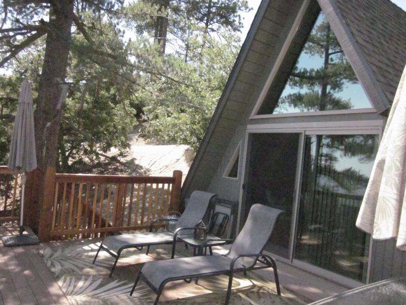 Deck Lounge Chairs to kick back, relax, read a book, watch wildlife, enjoy the view, and star-gaze.