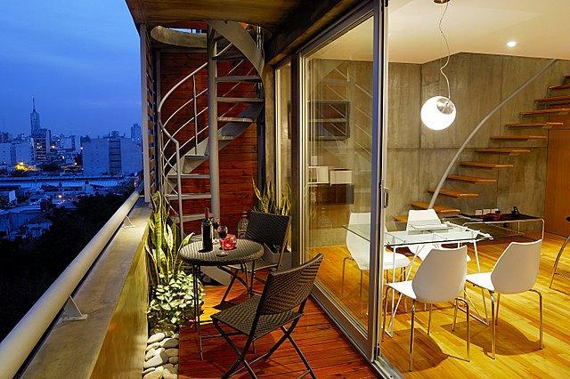 Penthouse/private terrace&mini pool/best city views/2bedrooms, alquiler de vacaciones en Buenos Aires