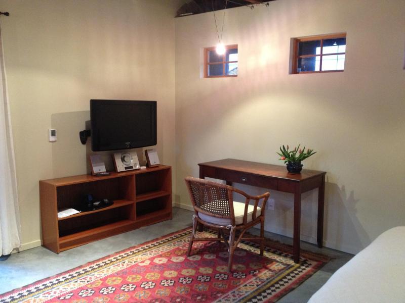 TV/Desk corner