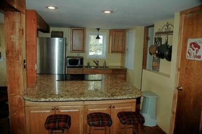 Cooking will be Fun in the Stainless Steel and Granite Kitchen