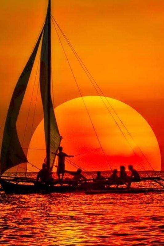 Amazing sunset  - Photo of Allen Quijano