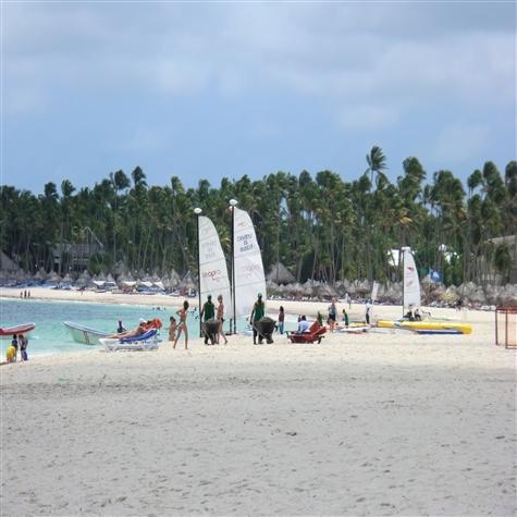 Bavaro beach water activities