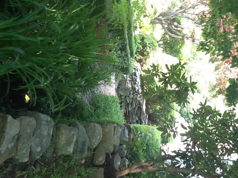 Zijaanzicht van de tuinkamer
