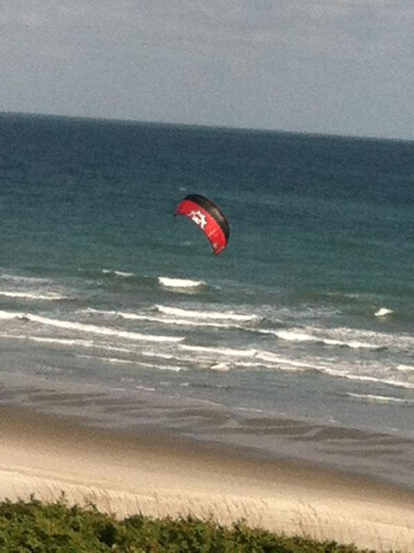 Why not try Parasailing yourself, instead of watching it from your Varanda over the sea