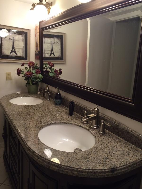 Master bath is what you've come to enjoy in a home