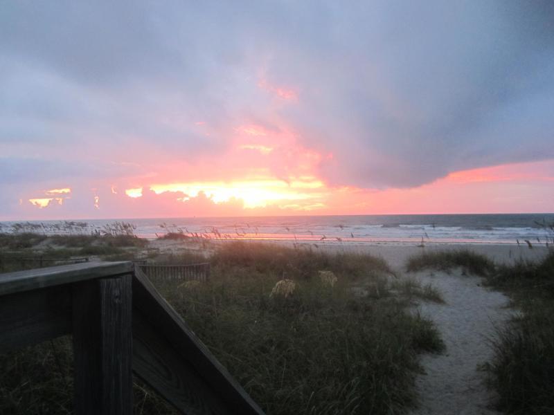Enjoy the sunrise at the Beach!