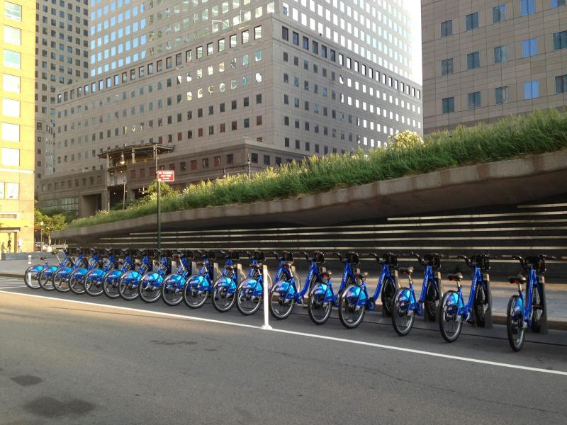 CitiBIke stations are a very short walk from my place