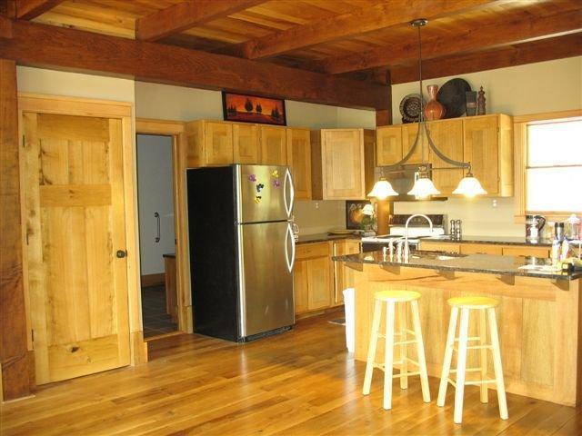 Área de cocina de la gran sala.