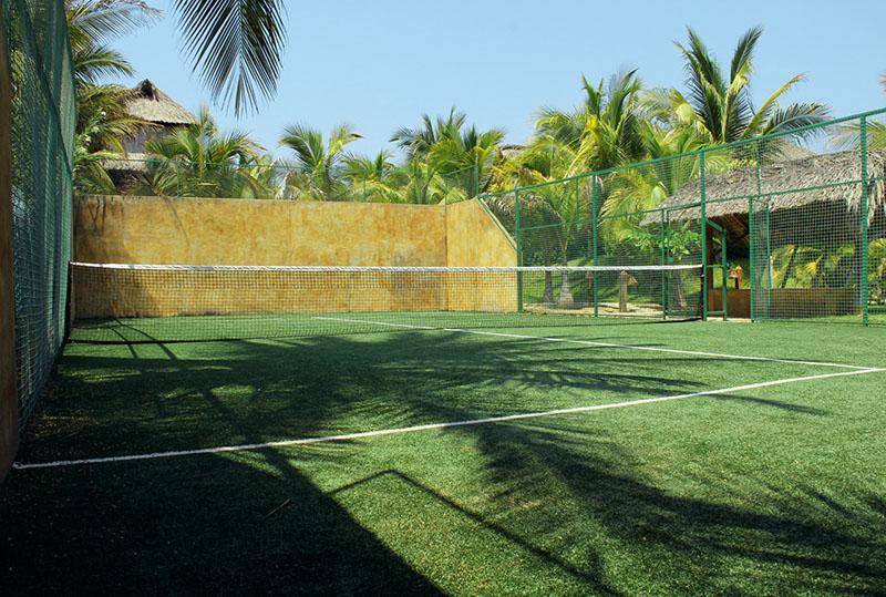Shared Paddle Tennis Court