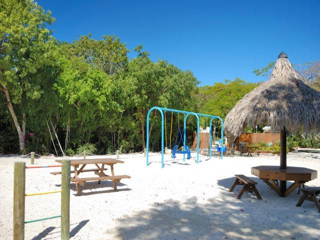 There's plenty for the kids. Enjoying our water activities or just frolicking in our playground.