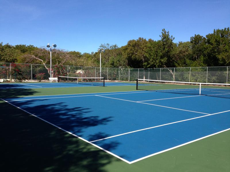 Tennis anyone? (Yes, you should wear shoes here :)