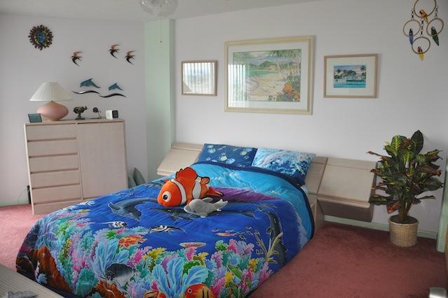 Master bedroom - Restful Bahamian pastels and ocean views