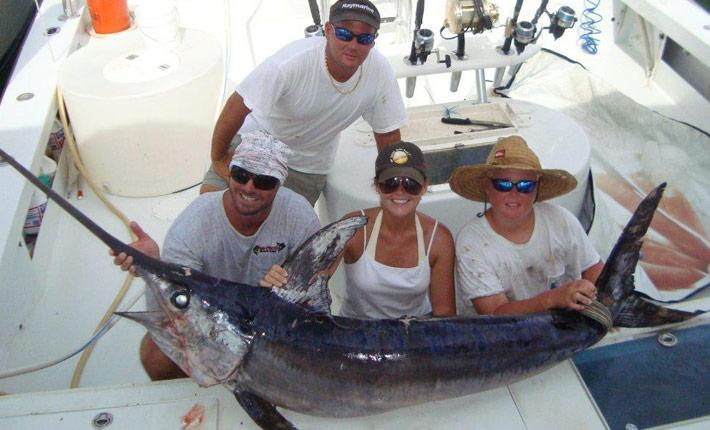 Deep sea fishing in the Sport Fishing Capital of the World.