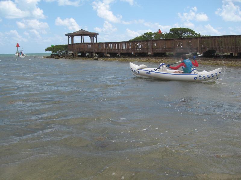 Kayaking at Ocean Pointe