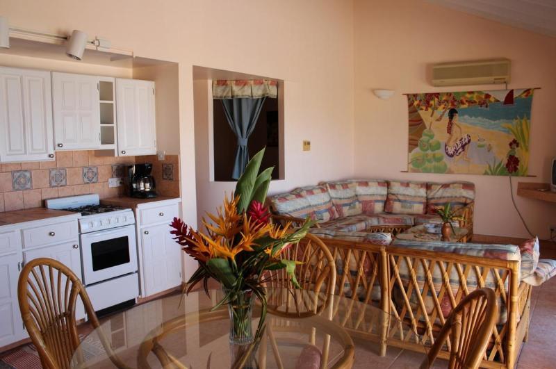 Coyaba Living Room/Kitchen