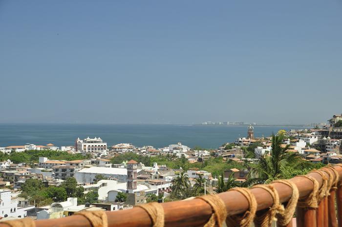 Uitzicht op de stad en de Oceaan