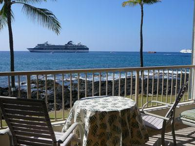 Lanai for sunsets, tanning, dining or drinks