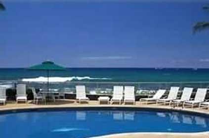 New salt water beach side pool at The Reef