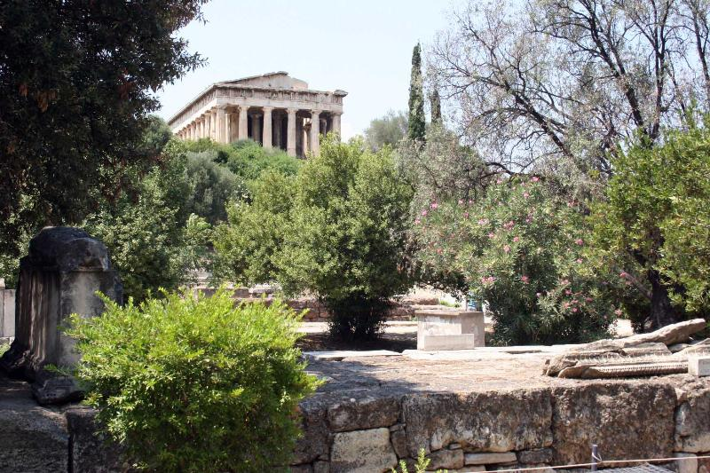 Athens: Ancient temple of 'Ifestus' (god of fire)