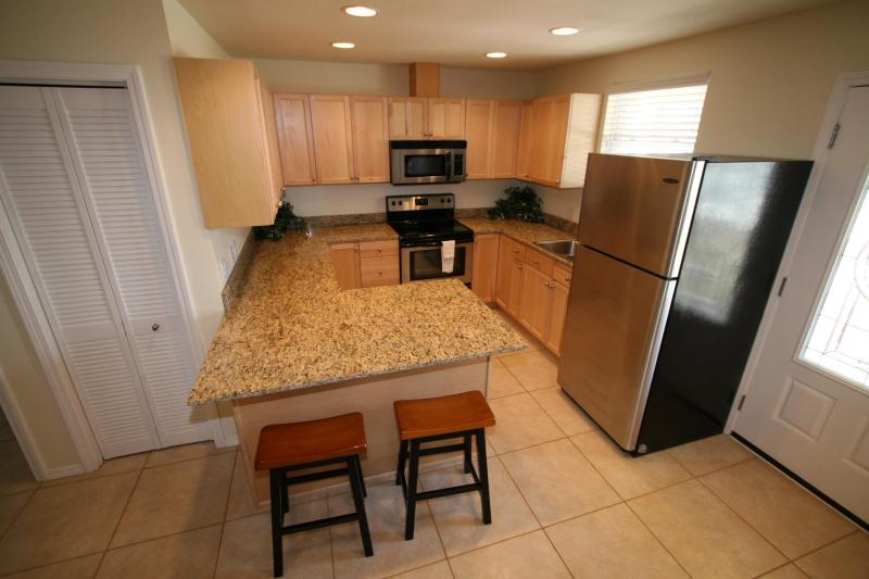 Gorgeous Kitchen with stainless steel appliances and granite countertops