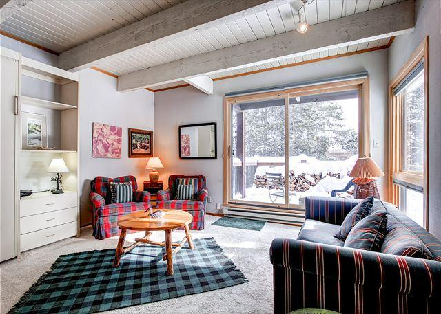 Sundowner Studio Living Room Breckenridge Condo Rentals