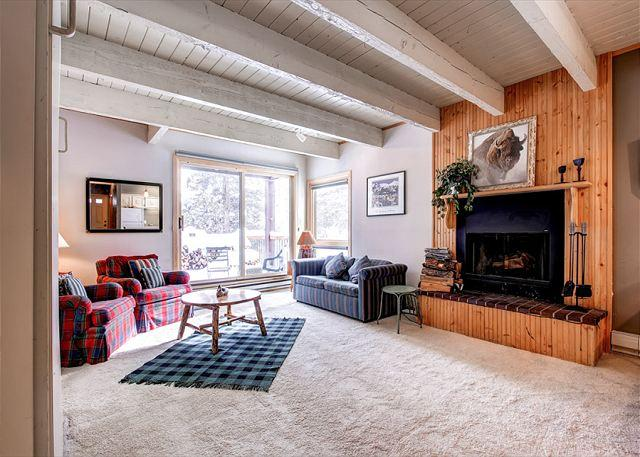 Sundowner Studio Living Room Breckenridge Lodging