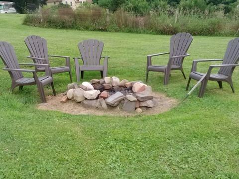 Fire Ring for S'Mores