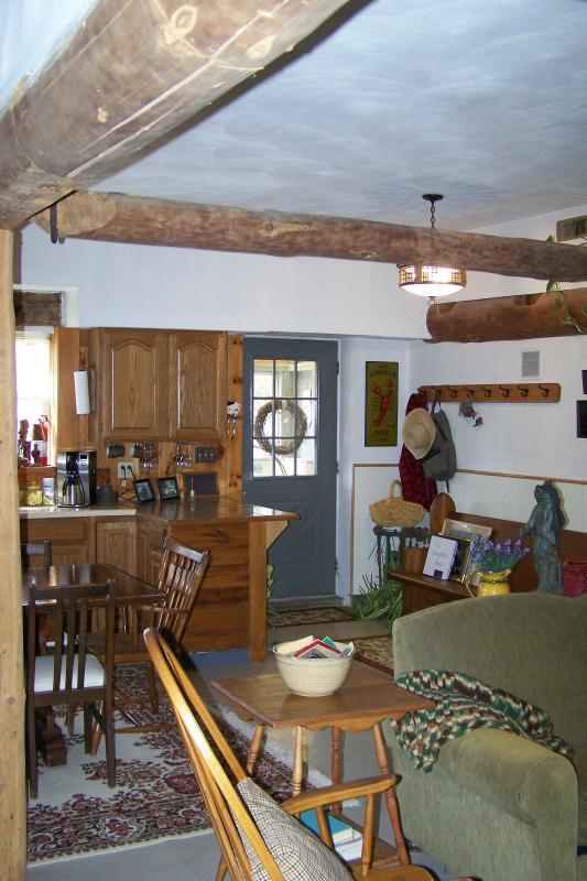 View of Front Door from Living Room