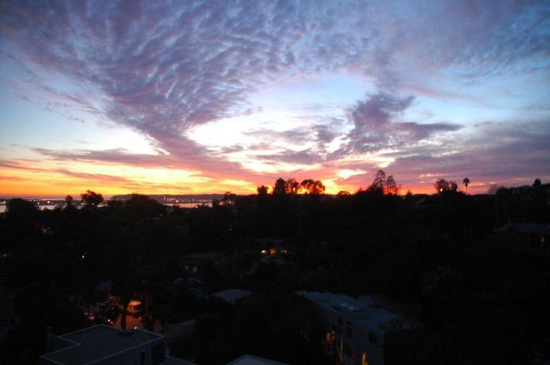 Amazing sunset views are artwork