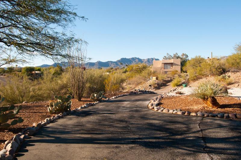 View of Tucson Mountains out of Front Door