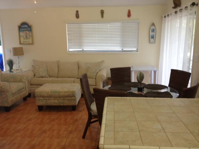 woonkamer & eetkamer - uittrekbare sofa - koningin matras
