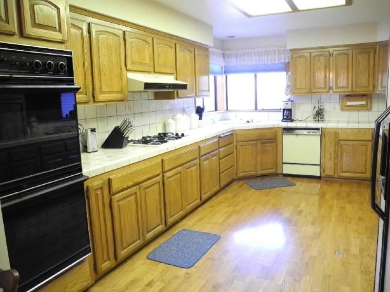 Huge and fully stocked kitchen
