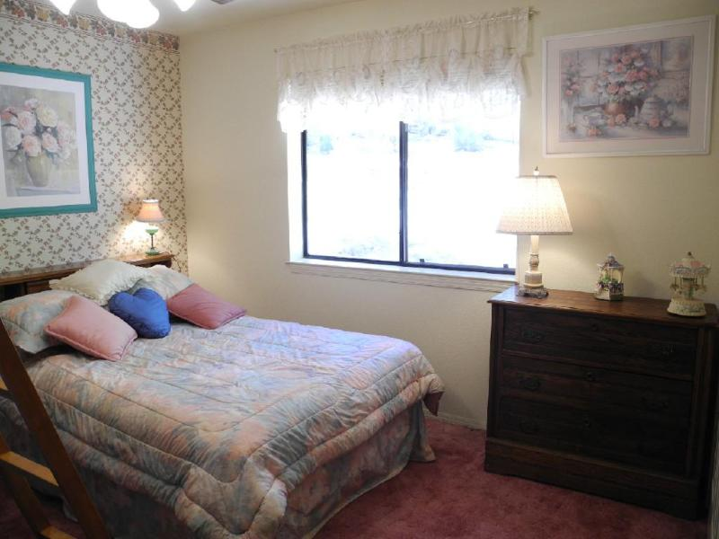 Third bedroom with double bed