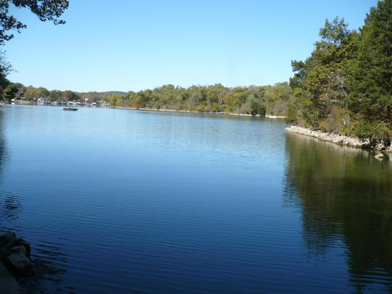 Lake view at H-Ha tonka state park - about 12 miles from the Ledges